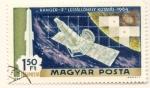 Sellos del Mundo : Europa : Hungría : Ranger 7 laboratorio espacial. Mision catografia de la luna
