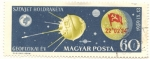 Stamps : Europe : Hungary :  Luna 2 primera sonda en ellegar a la luna