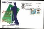 Sellos de Europa - España -  Fútbol - Real Club Recreativo de Huelva - SPD