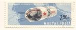 Stamps : Europe : Hungary :  Vosjod 1 primera mision tripulada por mas de una persona