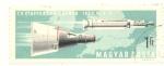 Sellos del Mundo : Europa : Hungría : Gemini 9. 7 vuelo tripulado de la NASA