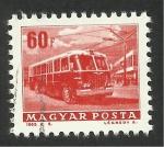 Stamps Hungary -  Autobús