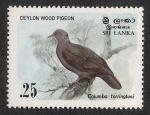Stamps Sri Lanka -  AVES: 2.269.021,00-Columba torringtoni
