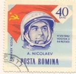 Stamps : Europe : Romania :  ANDRIJAN NYIKOLAJEV
