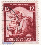 Stamps : Europe : Germany :  Deutfehes Reich 12 1935