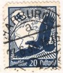 Sellos del Mundo : Europa : Alemania : Deutfehes Reich 20 1934