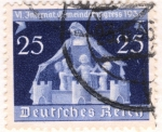 Stamps : Europe : Germany :  Deutfehes Reich 25 1936
