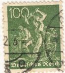 Sellos del Mundo : Europa : Alemania : Deutfehes Reich 100 1934