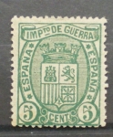 Stamps Europe - Spain -  ESCUDO DE ESPAÑA, IMPUESTO DE GUERRA