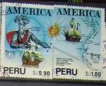 Sellos de America - Perú -  America