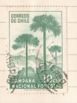 Stamps Chile -  Campaña Nacional Forestal