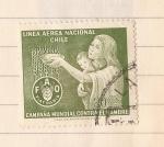 Stamps Chile -  Campaña Mundial Contra el Hambre