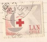 Stamps : America : Chile :  Centenario Cruz Roja Internacional 1863-1963