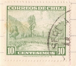 Stamps : America : Chile :  Valle del Rio Maule