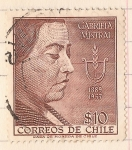 Stamps : America : Chile :  Primer aniversario de la muerte de Gabriela Mistral 1889-1957