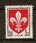 Sellos de Europa - Francia -  Escudos. / Lille.