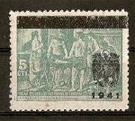Stamps Spain -  Velazquez / Sobrecargados y No Expedidos.