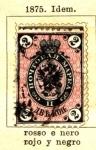 Stamps Russia -  Imperial edicion 1875