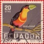 Stamps : America : Ecuador :  Diostedé