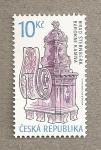 Stamps Europe - Czech Republic -  Castillo Sternberk, detalle arquitectónico