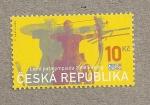 Stamps Europe - Czech Republic -  Juegos Paralímpicos Pekin 2008