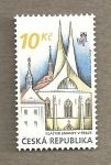 Stamps Europe - Czech Republic -  Monasterio Emauzy
