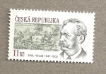 Stamps Europe - Czech Republic -  Emil Holub