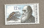 Stamps Europe - Czech Republic -  200 años nacimiento Charles Darwin