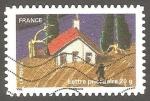 Sellos de Europa - Francia -  casa en el campo