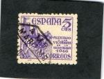 Stamps : Europe : Spain :  1062- AUXILIO A LAS VICTIMAS DE LA GUERRA 1946