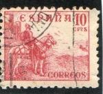 Stamps : Europe : Spain :  1045- EL CID  A CABALLO