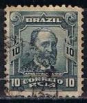 Stamps Brazil -  Scott  147  Aristides Lobo