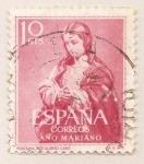 Sellos de Europa - España -  La Purísima