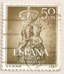 Stamps Spain -  Nuestra Señora del Pilar