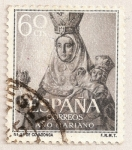 Stamps Spain -  Nuestra Señora de Covadonga