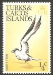 Sellos del Mundo : America : Islas_Turcas_y_Caicos : 311 - ave sooty tern