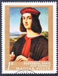 Stamps Hungary -  Raffaello