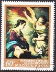 Stamps Hungary -  Bernardo Strozzi