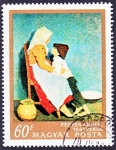 Stamps Hungary -  Fényes Adolf