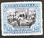 Stamps Guatemala -  Próceres Independencia
