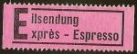 Stamps Germany -  ETIQUETA DE CORREO URGENTE - EILSENDUNG / EXPRÉS - ESPRESSO