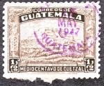 Sellos del Mundo : America : Guatemala : Huehuetenango Ruinas de Zaculeu