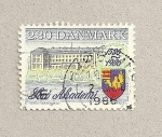 Stamps Denmark -  400 Aniv. de la Academia soro