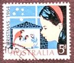 Sellos del Mundo : Oceania : Australia : Christmas 1964