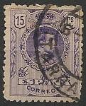 Sellos de Europa - España -  Alfonso XIII.  Tipo medallón. Ed 270