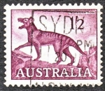 Sellos de Oceania - Australia -  Tasmanian Tiger