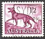 Stamps Oceania - Australia -  Tasmanian Tiger