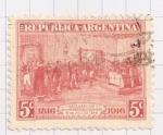 Sellos de America - Argentina -  Declaración de independencia