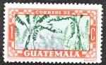 Stamps Guatemala -  Banano