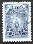 Stamps America - Guatemala -  I Aniversario de la Revolución 20 de Octubre